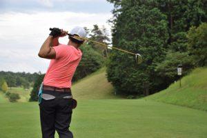 ゴルフスイング改善 は肩こりから